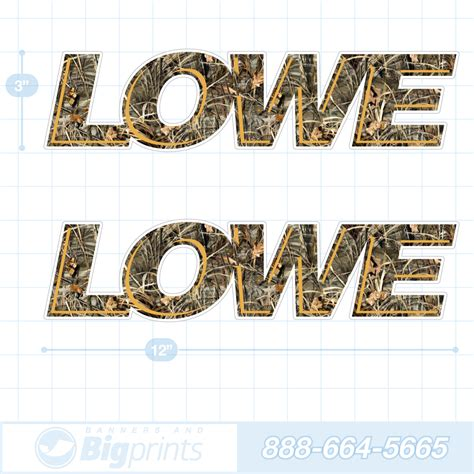 Lowe Boats Decals by Lowe Boat Decals Camouflage Sticker Package
