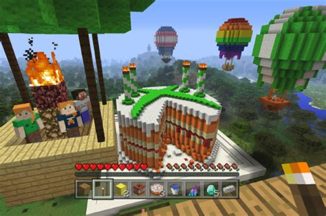 minecraft celebrates birthday   skin packs  xbox