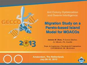 Migration study on a Pareto-based island model for MOACOs