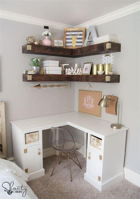 corner vanity desk diy corner desk desks tutorials and free