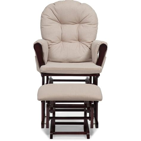 Glider Rocker Ottoman Only by Nursery Glider Ottoman Baby Set Rocking Chair Rocking Wood