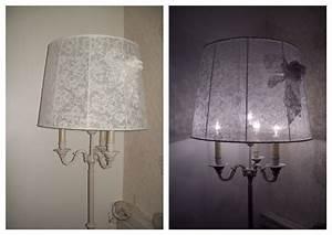 Abat Jour Lampe Sur Pied : grand abat jour pour lampe sur pied lampes designs ~ Nature-et-papiers.com Idées de Décoration