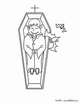 Cercueil Ataud Vampiro Wampiry Casket Sheets Hellokids Vampires Dla Jedessine Relato sketch template
