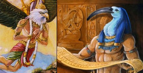 What do Egyptian gods and Hindu gods have in common ...