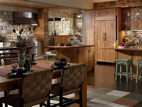 Rustic Kitchen Designs Photo