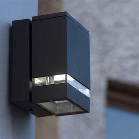 lutec  focus led gr  watt outdoor led wall light