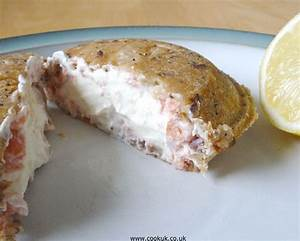 Smoked Salmon & Cream Cheese Toasted Sandwich