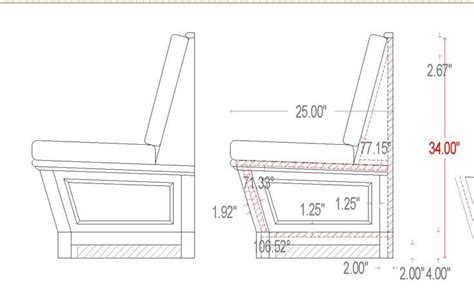 Standard Bench Heights & Dimensions
