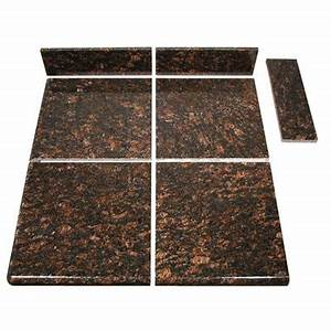 Topstone tan brown modular kitchen tile end set home for Modular kitchen tiles