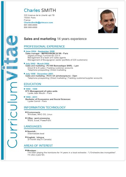 Ideal Cv Template by Ideal Cv Format 20 Cv Templates Create A Professional