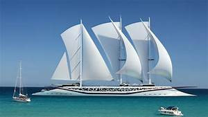 Design concept of sailing yacht Phoenicia wallpapers and ...