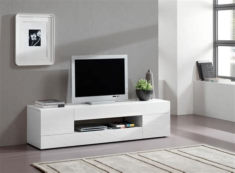meuble tv blanc laque pas cher remc homes