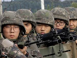 South Korea requires all males to serve in the military ...