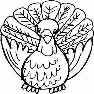 Turkey Black And White Clip Art at Clker.com - vector clip ...