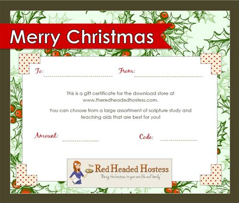 free printable photography gift certificate template best photos of christmas printable gift certificates
