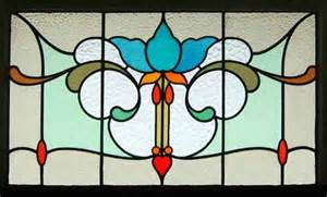 Art Nouveau Stained Glass Patterns