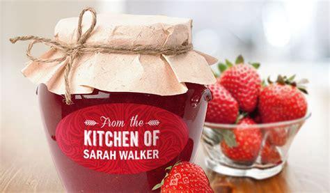 custom jam  jar labels stickeryou products