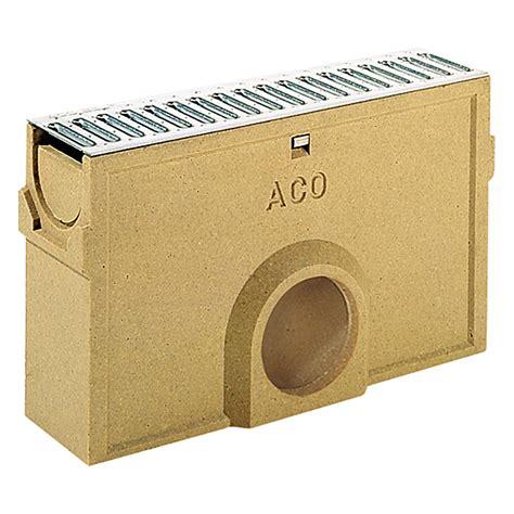 aco self standardline aco self einlaufkasten standardline 50 x 11 8 x 30 cm