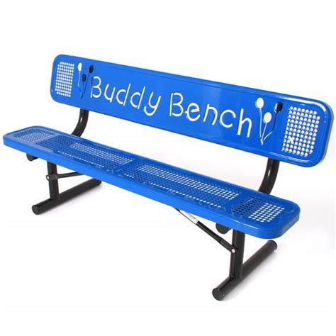 buddy bench for buddy bench 187 bloomingdale avenue school