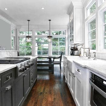 black galley kitchen interior design inspiration photos by derosa builders 1681