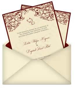 free wedding sles indian wedding invitation mail template wedding invitation ideas