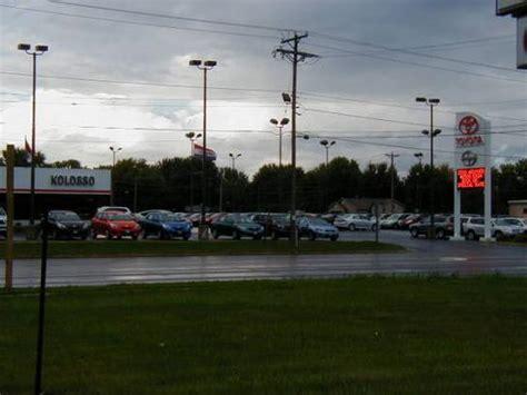 Kolosso Toyota Appleton by Kolosso Toyota Car Dealership In Appleton Wi 54914 1707