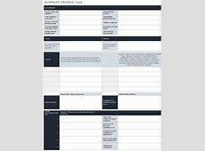Strategic Plan Template Not For Profit Images Template