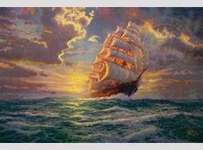 Courageous Voyage The Thomas Kinkade Company
