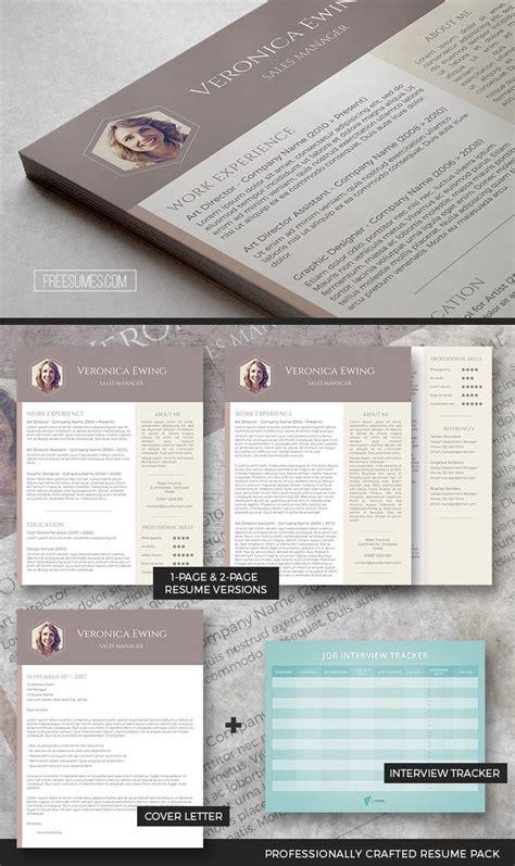 Set Resume Template by Professional Resume Template Set Cv Resume Design Cv