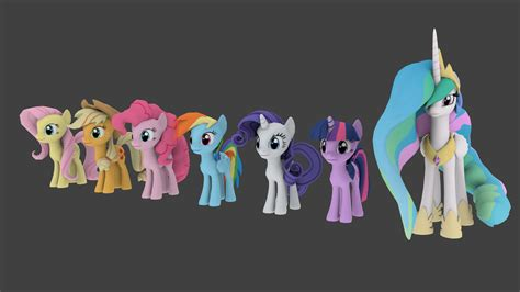 Cheerilee's Gmod Ponies For Blender Ver. 1.1.1 By