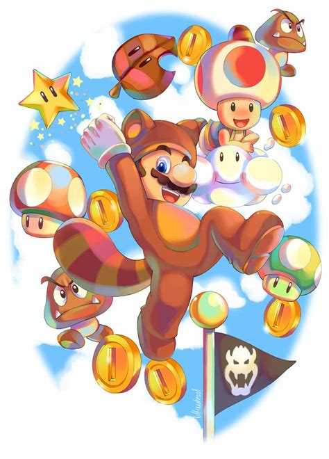 Awesome Collection Of Super Mario Fanart