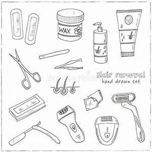 Waxing Or Sugaring Hair Removal Tool Stock Vector