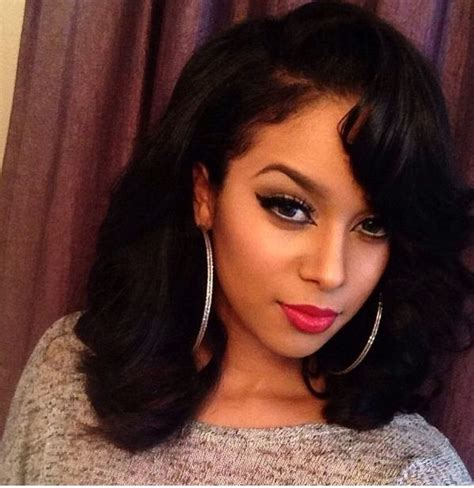 Medium Sew In Hairstyles by Shoulder Length Sew In Yay Or Nay Hair Hair Styles