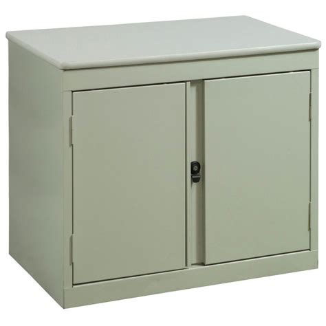 Used 2 Door Storage Cabinet Putty National Office