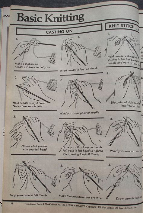 knitting basics basic knitting instructions images frompo 1