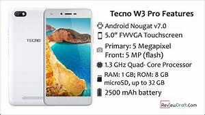 Tecno W3 Pro Price In Bangladesh  Full Specification