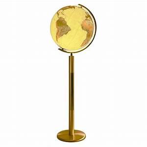 Globe Sur Pied Columbus Royal 40cm