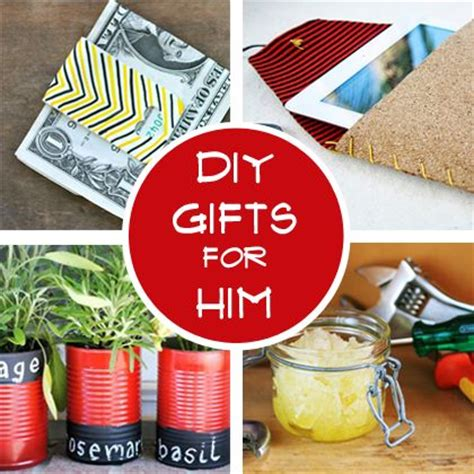 diy gifts for him a handsome handmade simple
