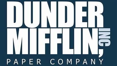 Dunder Mifflin Office Television Brand Musings Logos