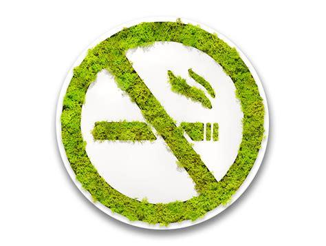 green mood pictogram  smoking sign