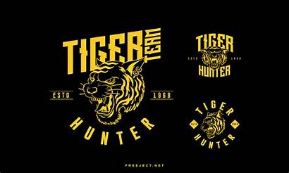 Badge Photoshop Template Tiger Psd Vol Freeject