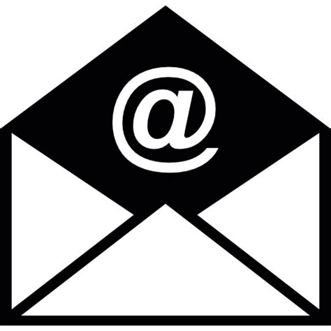 email envelope icon png opened email envelope free interface icons