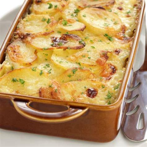 cuisine poireau recette gratin de pommes de terre aux poireaux facile