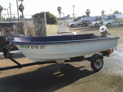 Fishing Boat Registration Bdo by 1992 Livingston 12 With 10 Hp Honda 4 Stroke Bloodydecks