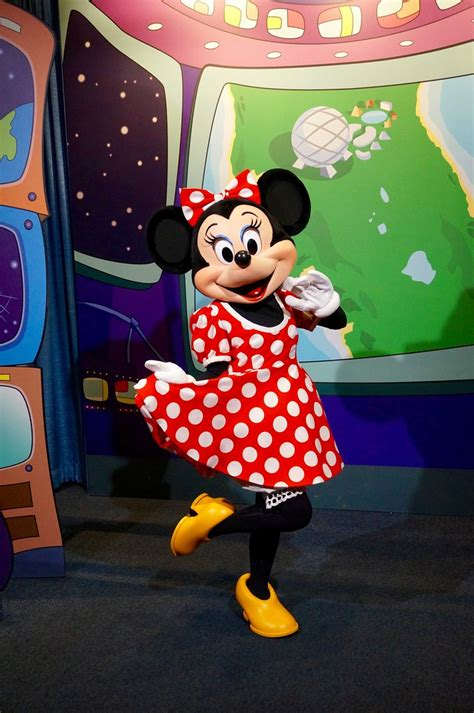 with mickey mouse minnie mouse epcot in walt disney wo