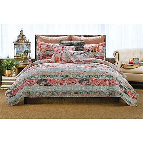 tracy porter quilts tracy porter 174 franny quilt in blush bed bath beyond