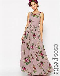 asos petite asos petite wedding super full maxi dress in With maxi dress at wedding