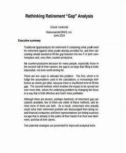 professional templates 39 gap analysis templates in pdf word free premium