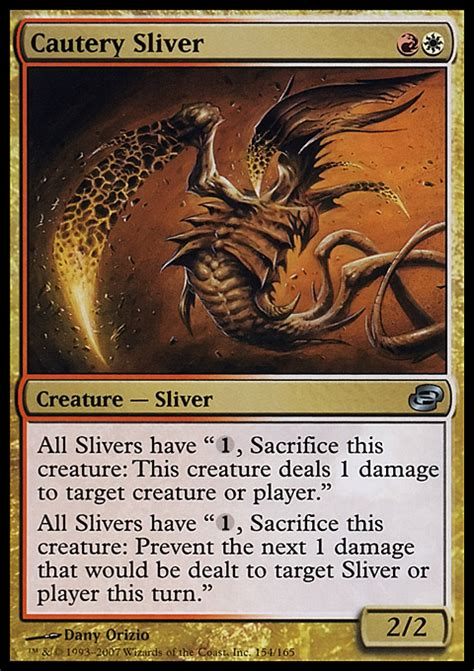 Sliver Deck Modern Budget by Proxies For Deck Quot Slivers Quot Deckstats Net