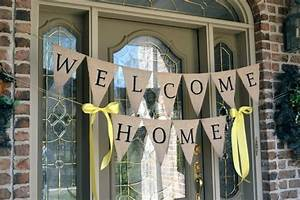 Week 9 Welcome Home Banner (make along with baby's sign ...